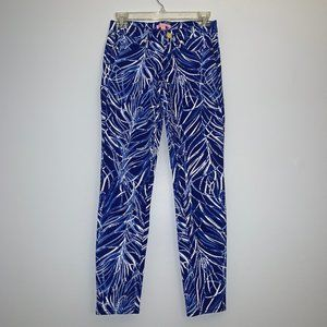 Lilly Pulitzer South Ocean Skinny Crop Jeans